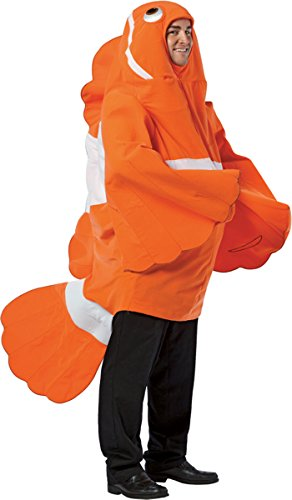 Morris Costumes Unique Clownfish Adult One Piece Costume