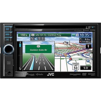 "Jvc Kwnt500Hdt 6.1"" Bluetooth/Hd Radio With Ttn + Dvd/Cd/Usb/Sd Navigation"