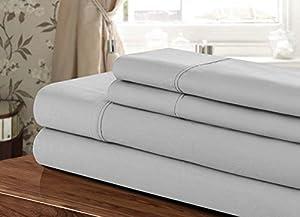 american high class 1200tc 4 piece extra deep. Black Bedroom Furniture Sets. Home Design Ideas