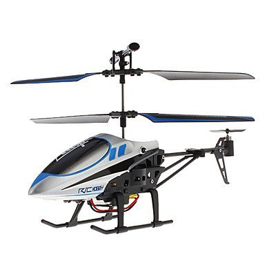 The Flyer's Bay 3 Channel Helicopter- The Conqueror Series (Blue)