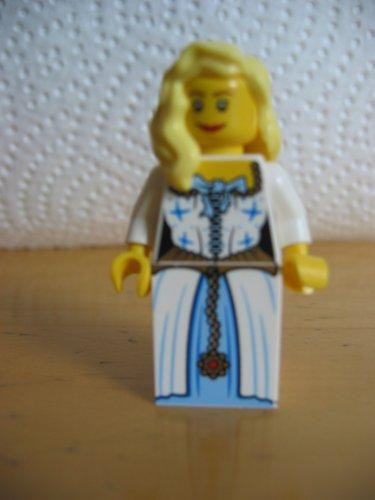 LEGO PIRATEN - seltene Minifigur Sammelfigur ADMIRALS TOCHTER MIT HELLEN HAAREN - FRAU - FRÄULEIN - MÄDCHEN