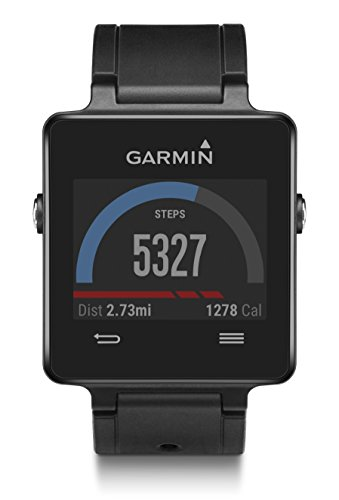 Garmin Vivoactive White Bundle (Includes Heart Rate Monitor)