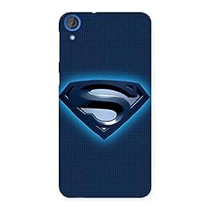 Stylish Premier Blue Day Multicolor Back Case Cover for HTC Desire 820