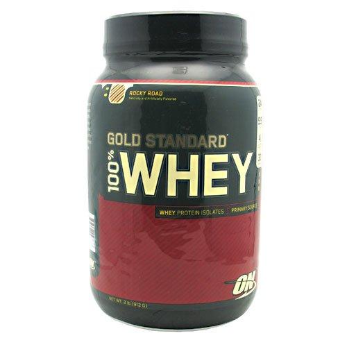 Optimum Nutrition Gold Standard Whey Rocky Road — 2 lbs