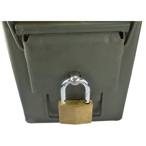 Ammo Box Can Lock Hardware Kit .50 Cal, Fat 50,l 30 Cal, 20 mm, 40 mm (1 Count) (Ammo Can Lock Kit compare prices)