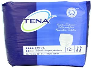 Tena Protective Underwear, Extra Absorbency from J&J Sales & Logistics