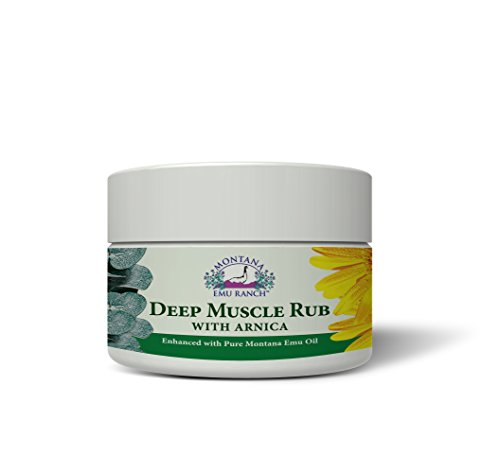 Montana Emu Ranch Deep Muscle Rub 2 Oz