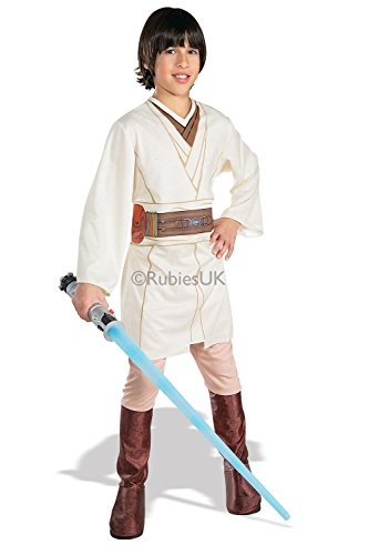 Kids Rubies Obi-Wan Kenobi Official Star Wars Jedi Fancy Dress Costume