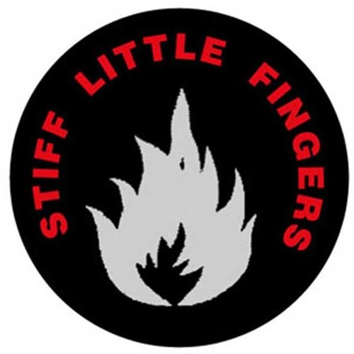 Stiff Little Fingers Infammable Material 1-Inch Button B100