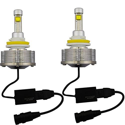 Sungetace 2Pcs 30W Cree H11 Led Headlight Conversion Kit 3600Lm 6000K Car Bus Headlamp Bulbs Waterproof
