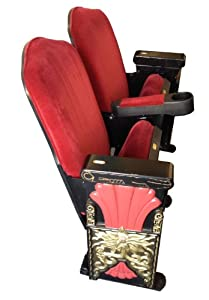 Art Deco Vintage Style Theater Seating Hollywood Chinese Movie Th