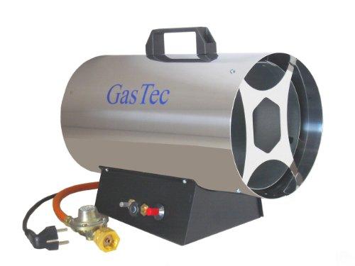 Gas-Heizkanone Gasheizer Gasheizgerät 5-15 KW Edelstahl regelbar GT150ER ST