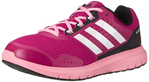 Adidas Performance Women's Duramo 7 W Women's Running Shoe, Pink/White/Pink, 9.5 M US