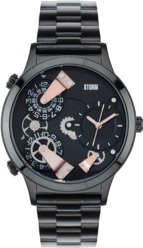 STORM TR47202/SL - Orologio da polso, uomo, acciaio inox