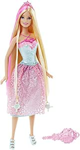Barbie Endless Hair Kingdom Doll, Pink