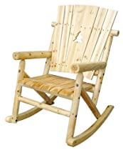 Hot Sale Aspen Series Single Rocker with Pine Tree