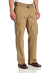 Lee Men's Relaxed-Fit Utility Belted Cargo Pants