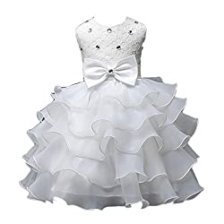Rosennie 2016 Sundress Nail Bead Girls Dress Wedding Party Princess Dresses