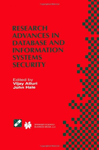 Research Advances in Database and Information Systems Security: IFIP TC11 WG11.3 Thirteenth Working Conference on Database Security July 25-28, 1999, Seattle, Washington, USA (IFIP Advances in Information and Communication Technology)