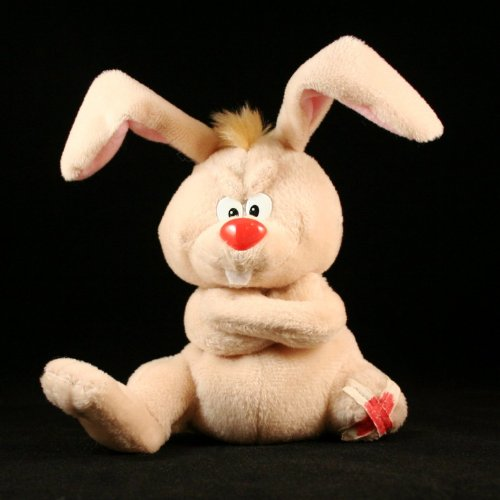 LUCKY THE RABBIT * MEANIES * Series 2 * Bean Bag Plush Toy From The Idea Factory - 1