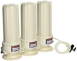 CRYSTAL QUEST Countertop Replaceable Triple Nitrate Water Filter System