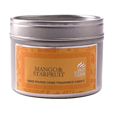 Mango Starfruit - Shearer Scented Candles - Tin - 20 Hours from Shearer Candles