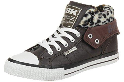 British Knights ROCO BK Damen Sneaker 85739 dunkelbraun, Schuhgröße:EUR 36