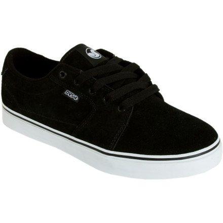 DVS Men's Convict Skate Shoe,Black Suede,11.5 M US