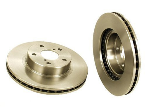 Brembo 25369 Front Ventilated Brake Rotor without Anti-Lock Braking System