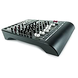 RCF LIVEPAD6X 6-Channel Mixing Board with Compressor from RCF