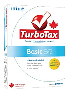 Intuit Turbotax Basic Tax Software for Tax Year 2012
