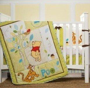 Kidsline Retro Pooh Crib Bedding