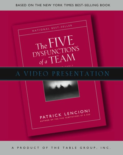Five Dysfunctions Of A Team Video Presentation [Vhs]