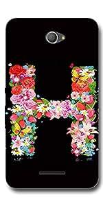 SEI HEI KI Designer Mobile Back Cover Case For Sony Xperia E4