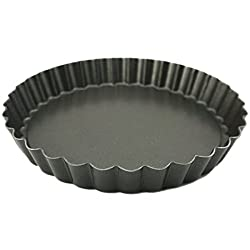 Non-stick Pizza Pan Mold 9 Inch Drop Battom Cake Pizza Baking Pan Mould(1 PC, 8 Inch)