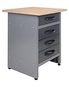 Werkbank Werktisch Montagewerkbank Werkstatttisch Schubladenschrank   Kundenbewertung und Beschreibung