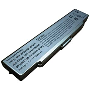 Laptop Battery For Sony Vaio PCG VGN-AR VGN-NR VGN-SZ VGN-CR Series P/N's: VGP-BPS10 VGP-BPS9 VGP-BPS9A/B VGP-BPS9/B VGP-BPS9/S VGP-BPL9