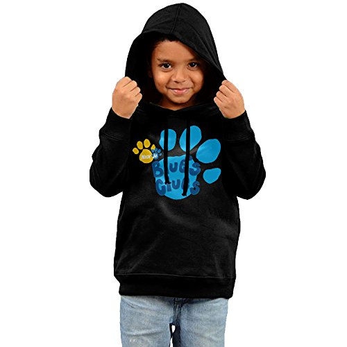 Toddler Kid Blue's Clues Logo Hoodie Sweatshirt Outwear Clothes