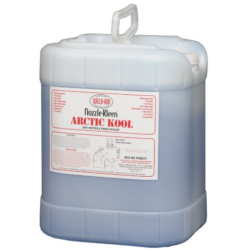 weld-aid-nozzle-kleen-artic-kool-anti-spatter-and-torch-coolant-liquid-5-gal