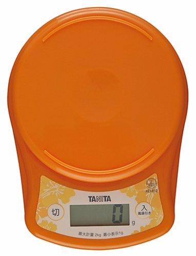 ?chelle de cuisson num?rique Tanita orange KD-812-OR (japon importation)