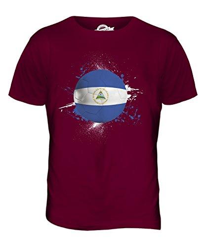 candymix-nicaragua-fussball-herren-t-shirt-grosse-medium-farbe-burgunderrot