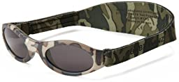 Adventure BanZ Baby Sunglasses, Little Hunter Camo, Infants 0-2 Years Color: Little Hunter Camo Size: Infants 0-2 Years NewBorn, Kid, Child, Childern, Infant, Baby