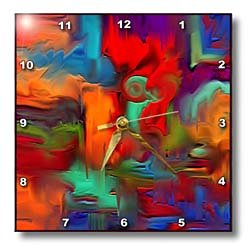 Digital Artwork Design - 10x10 Wall Clock
