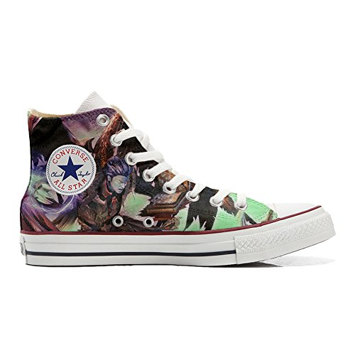Converse All Star Chaussures Coutume (produit artisanal) Demon style
