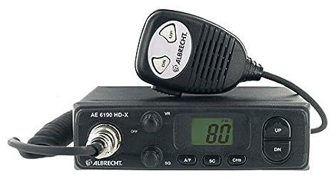 Albrecht AE-6490 Radio CB portative multicanaux et multirégion 12V
