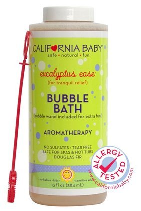California Baby Bubble Bath - Cold & Flu/Eucalyptus Ease - 13