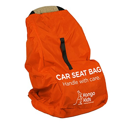 Car Seat Travel Bag - Make Travel Easier, Save Money and Protect your Child's Car Seat. Ultra Durable, Easy to Carry Padded Backpack and Compatible with Most Brands. Bonus Travel Accessory Strap! (Airplane Car Seat Cover compare prices)