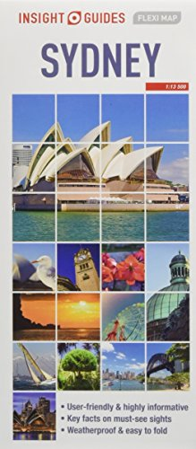 Insight Guides Flexi Map Sydney (Insight Flexi Maps) [Guides, Insight] (Tapa Blanda)