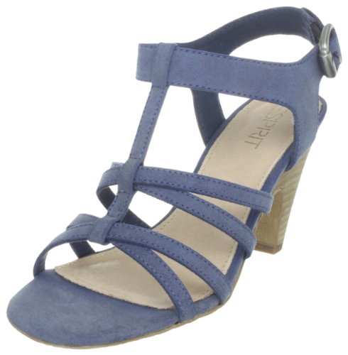 ESPRIT Womens Dione Sandal Fashion Sandals Blue Blau (dress blue 407) Size: 5 (38 EU)