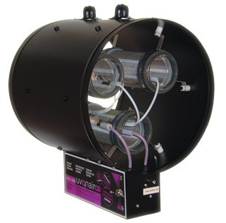 Uvonair 10 Inch CD-In-Line Duct Ozonator Corona Discharge with 2 cells